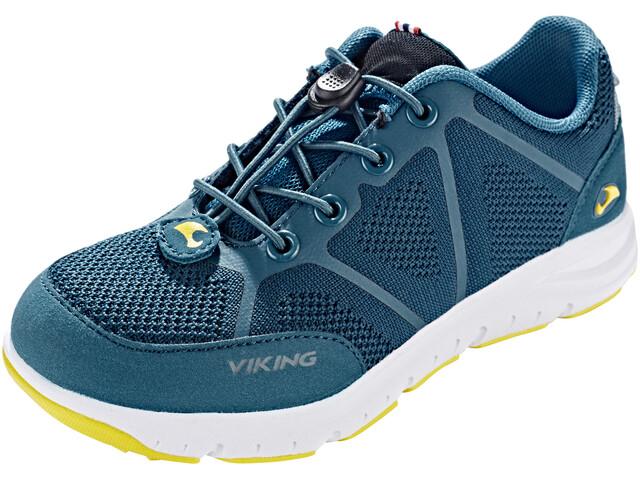 Viking Footwear Ullevaal Shoes Kids petrol/sun